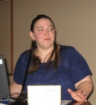 Image of Rebekkah Shaw presentation