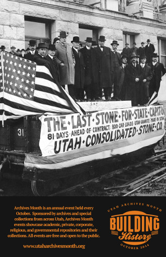 Utah Archives Month 2014 poster (small)
