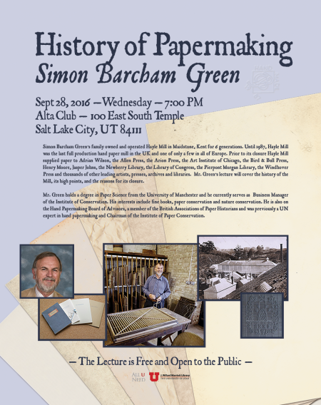 simon-green-papermaking-lecture-flyer